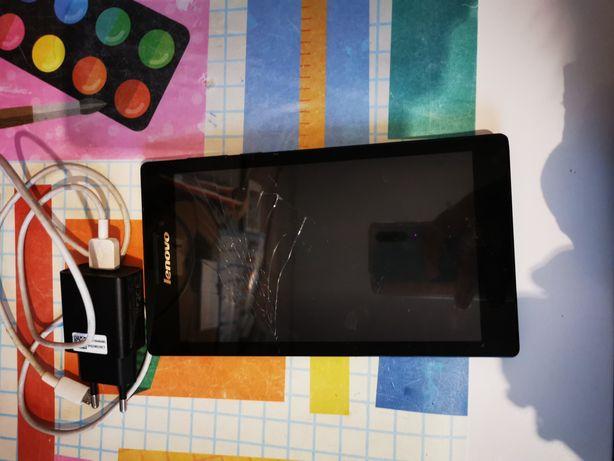 Lenovo czarny sprawny tablet