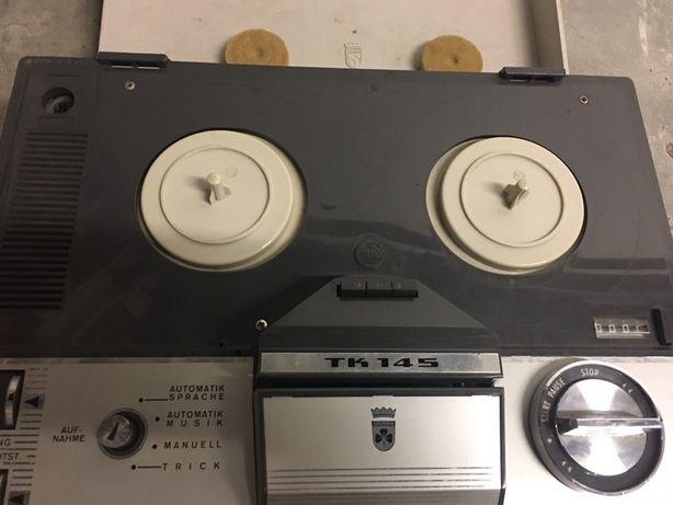 Gravador de bobines Grundig vintage