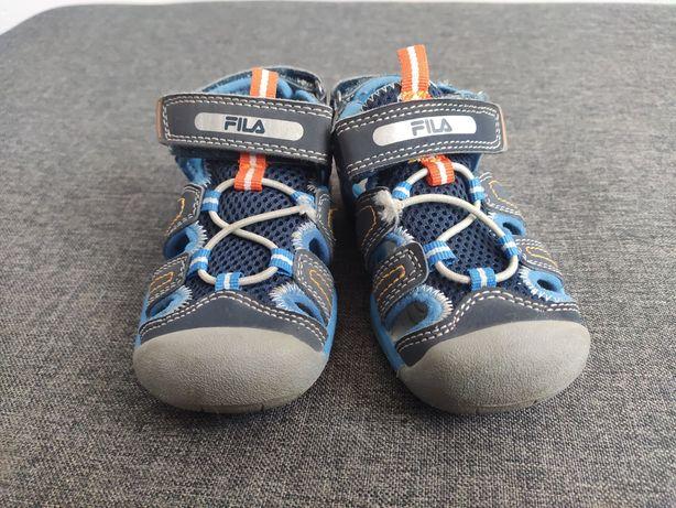 Buty dziecięce chłopięce 24 sandały Fila w dobrym stanie