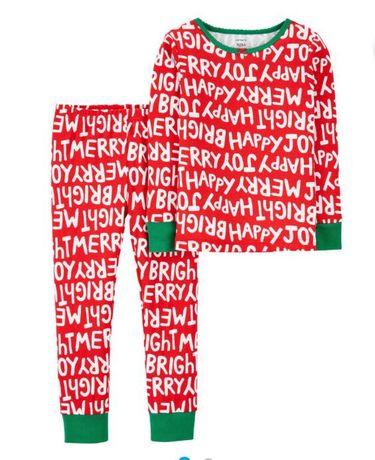 Детская Пижама картерс 2т 12-24м 80 86 92см дитяча піжама Carter's 2-3