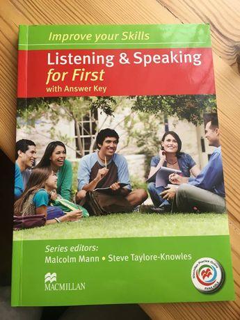 Improve your Skills for First. Listening and Speaking Skills Książka