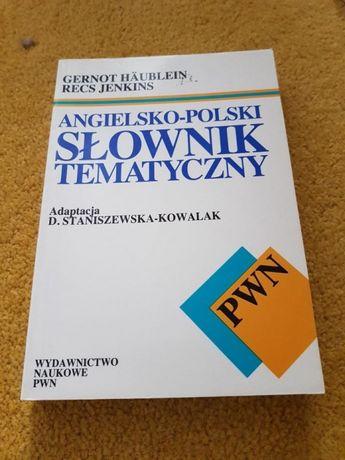 Angielsko-polski słownik tematyczny PWN
