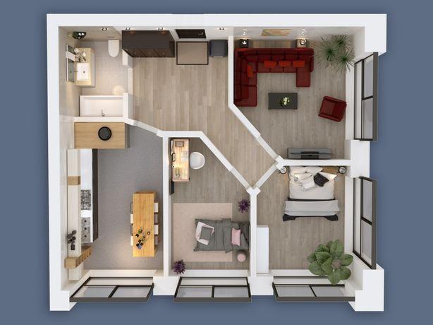 Продам 69м2 трёхкомнатную квартиру Левобережный 3 жк Олимпийский
