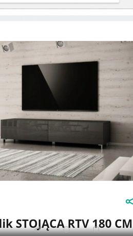 Szafka 180 cm stolik stojąca RTV pod telewizor, akwarium