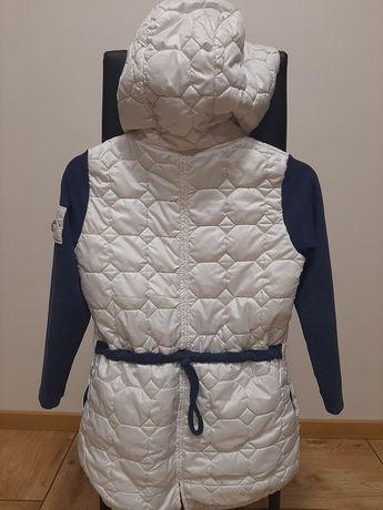 Biała kurtka Jesienna