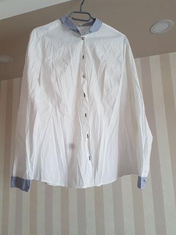 Biała koszula rozmiar 42/XL Seidensticker