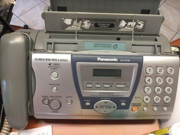 Faks,telefon.kopiarka Panasonic KX-FP148