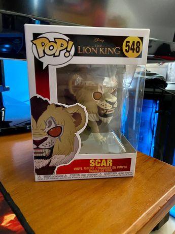 Funko Pop Scar 548 e Chewbacca 195