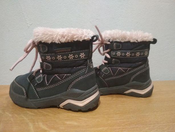 Buty zimowe dziewczęce nieprzemakalne Lupilu