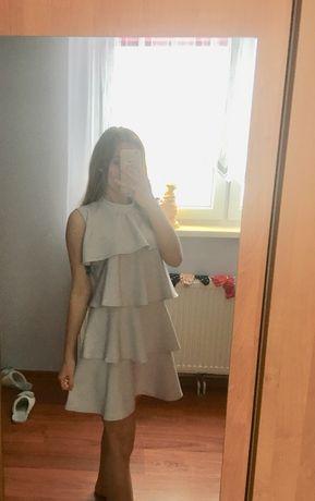 Sukienka weselna koktajlowa