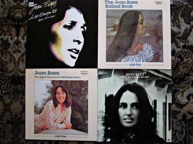 4 X Joan Baez /VINYLE W doskonałym stanie
