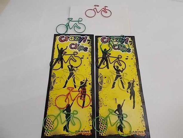 Clips Bicicleta - 2 embalagens de 5 clips cada