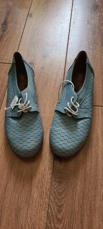 Кожаные туфли Alessie Nesca 39 размер
