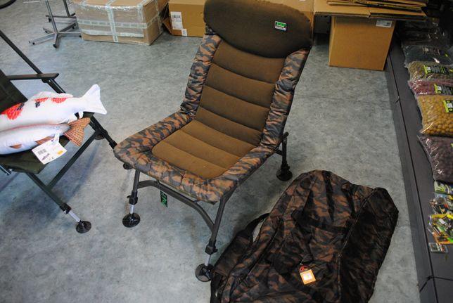 Fotel karpiowy + pokrowiec transportowy