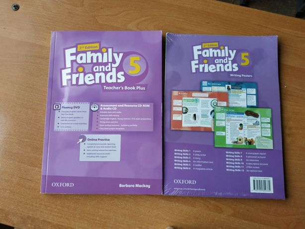 Family and Friends 5 Posters /2nd edition картинки ресурсы новые