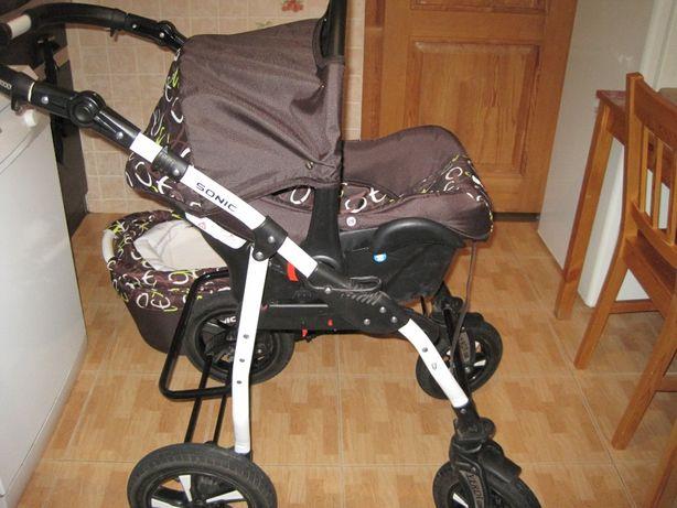 Универсальная коляска с автокреслом 3 в 1 Verdi Sonic