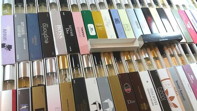 Perfumy 33 ml Pakiet 100 szt. za 600 zł.