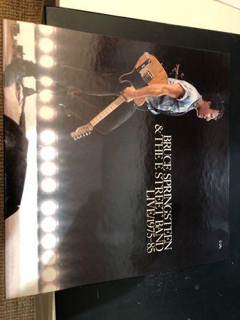 Caixa como Nova 5 LPs Vinil Bruce Springsteen - live 1975/85