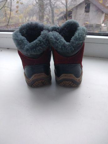 Продам шкіряні чобітки