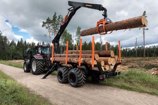 Przyczepa Leśna BMF 18T1 Żuraw BMF 1000