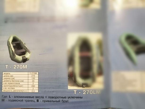 Надувная лодка ШТОРМ Thunder T 270