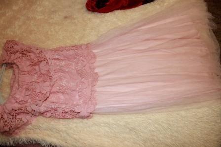 Очень нежное и красивое легкое платье 44-46!