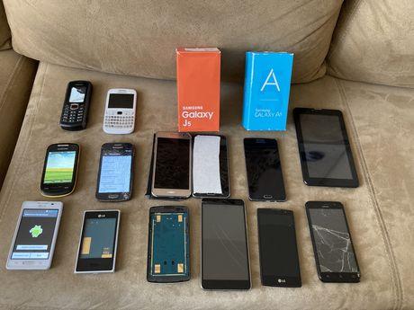 Smartfony, tablety sprawne i uszkodzone Samsung, LG, MyPhone, LEAGOO