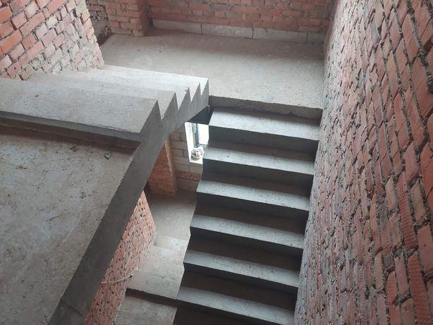 Сходи бетонні фундамент огорожі тераса