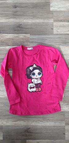 Bawełniana bluzeczka LOL Nowa 134
