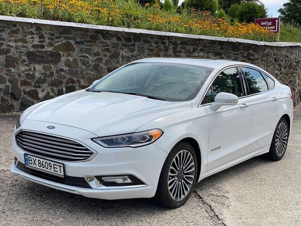 Ford Fusion Hybrid Titanium Full 2017 Максимальная Комплектация