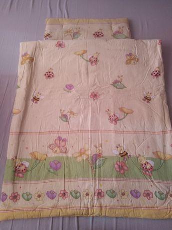 Poduszka i kołderka do łóżeczka 90X120