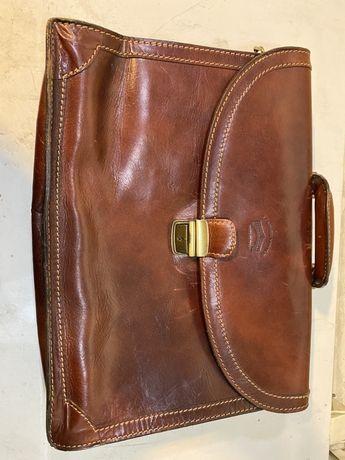 Aktówka skóra Leather Venice