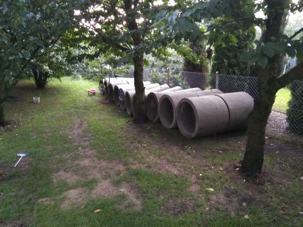 Szambo betonowe najtaniej , rury do schowania wodomierza , zbiornik,