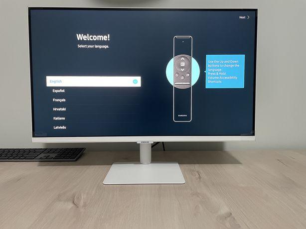 "Samsung Smart Monitor M5 27"" - NOWY"
