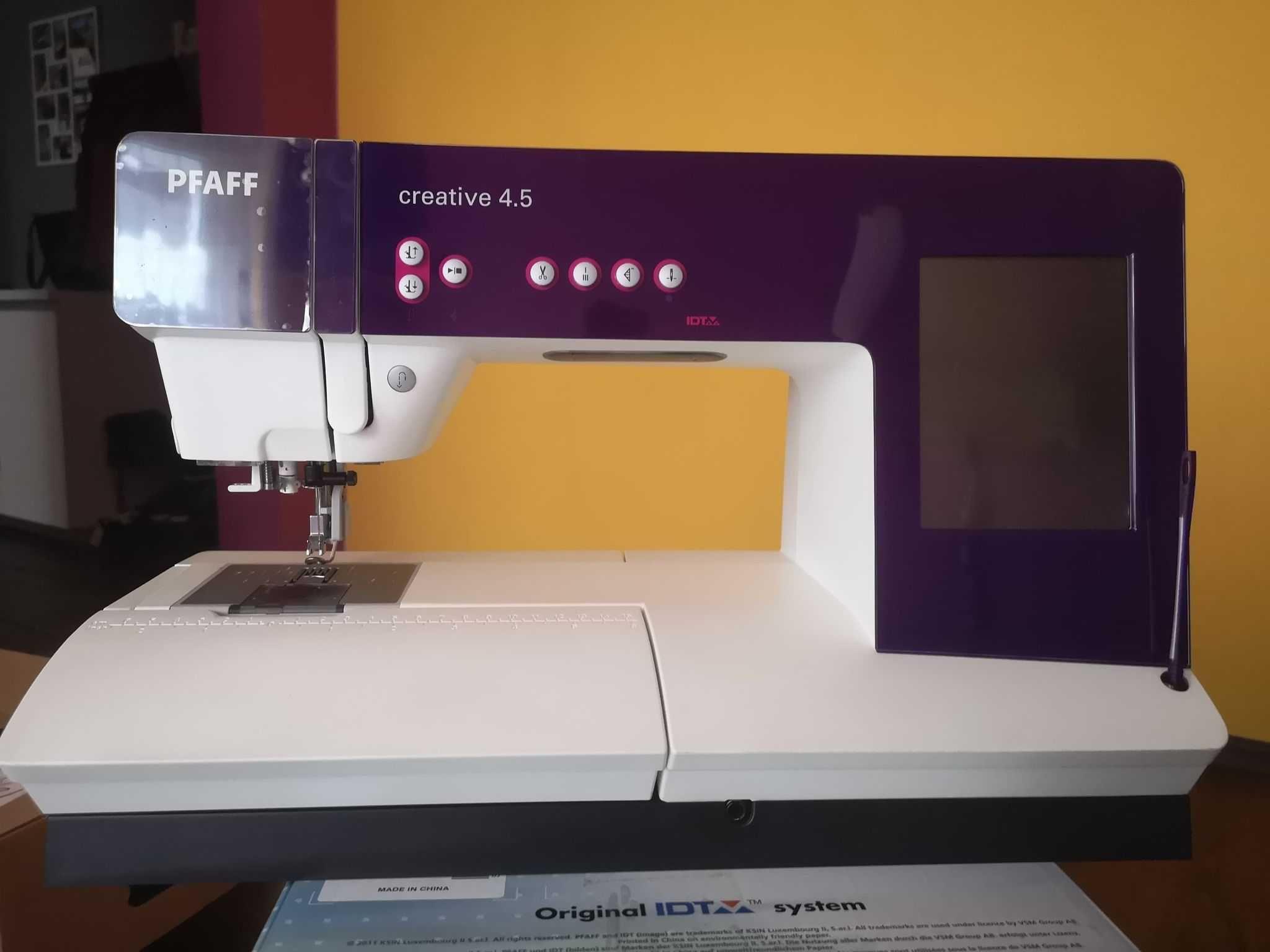 Maszyna do szycia Pfaff Creative 4.5 BEZ HAFCIARKI