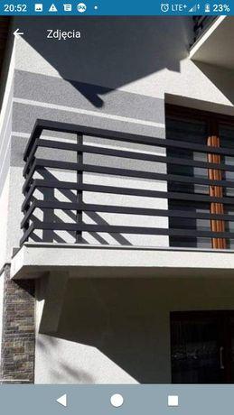 Balustrady ogrodzenia z lasra bramy nowoczesne
