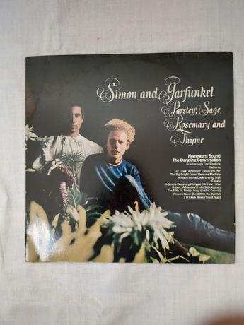 Disco Vinil LP -Simon and Garfunkel -Parsley, Sage, Rosemary and Thym