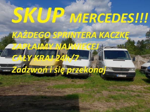 SKUP MERCEDES Sprinter Kaczka SKUP TOYOTA Hiace Hilux Corolla Carina