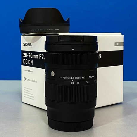 Sigma 28-70mm f/2.8 DG DN Contemporary (L-Mount) - NOVA
