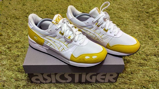 Nowe Buty ASICS Tiger Gel-Lyte White-Mustard, Tanio! Okazja!