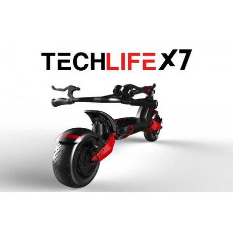 Techlife X7 hulajnoga elektryczna 65km/h 70km max obciążenie 120kg