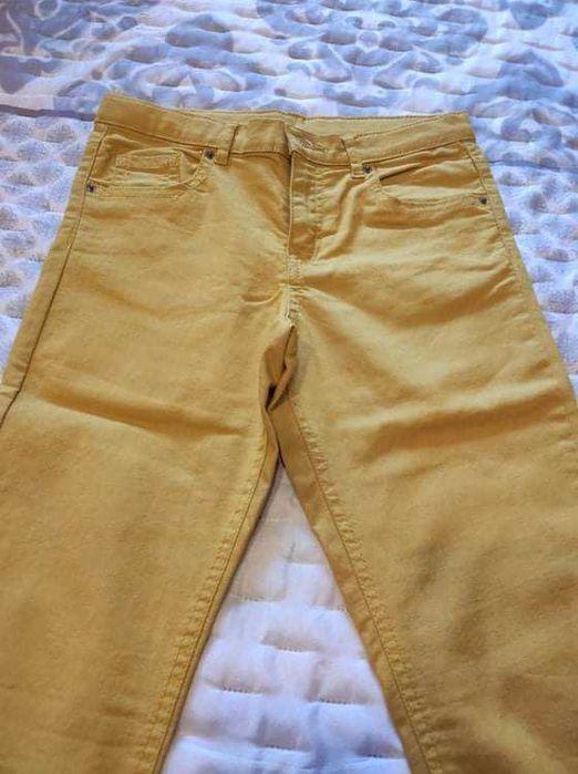 Calças amarelas NOVAS Adaúfe - imagem 1