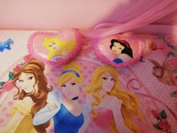 Narzuta przykrycie Princess 160/200 plus dwie poduszki