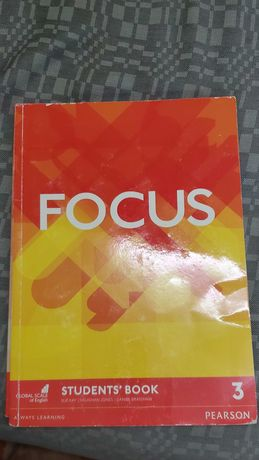 Focus 3 Students учебник английского языка 9-й класс