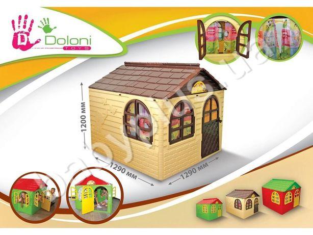 Детский домик игровой со шторками 02550 Doloni, дом Долони дім Долоні