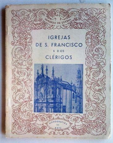 igrejas de s.francisco e dos clérigos no porto / armando de lucena