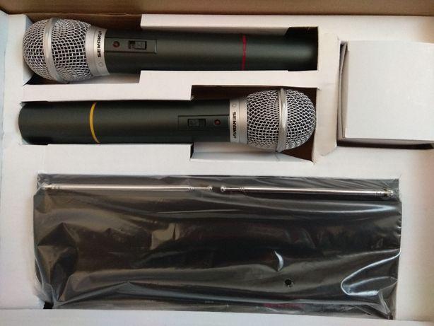 Mikrofony zestaw bezprzewodowy SEKAKU WR-202R/VXM-286TS