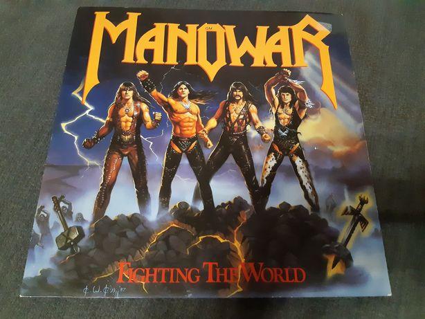 Manowar/1987/fighting the world/atco/ger/ex+/nm-