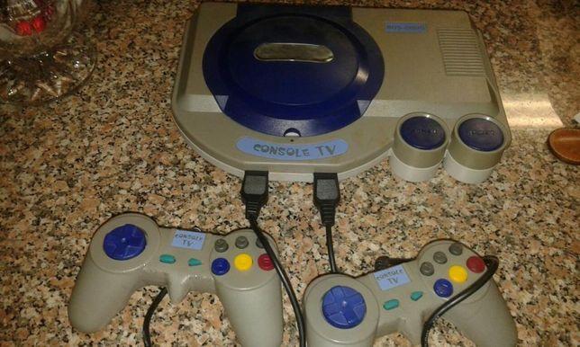 Consola anos 90, liga mas sem imagem