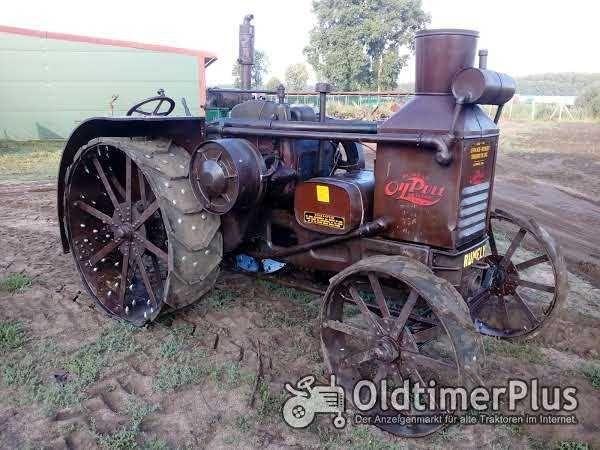 Ciągnik zabytkowy Rumely Oil Pull X 25-40  - rzdki egzemplarz z 1929 r